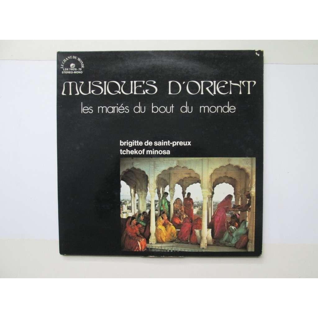 musiques d'orient Les Maries Du Bout Du Monde. Afghanistan. Iran. Turquie. Pakistan. Inde