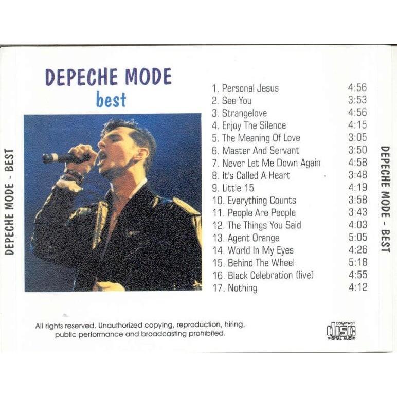 depeche mode best of album