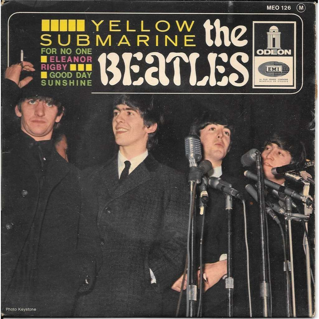the beatles YELLOW SUBMARINE +3