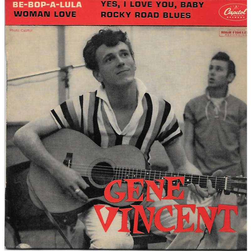 be bop a lula by gene vincent ep with charlyx ref 117719734. Black Bedroom Furniture Sets. Home Design Ideas