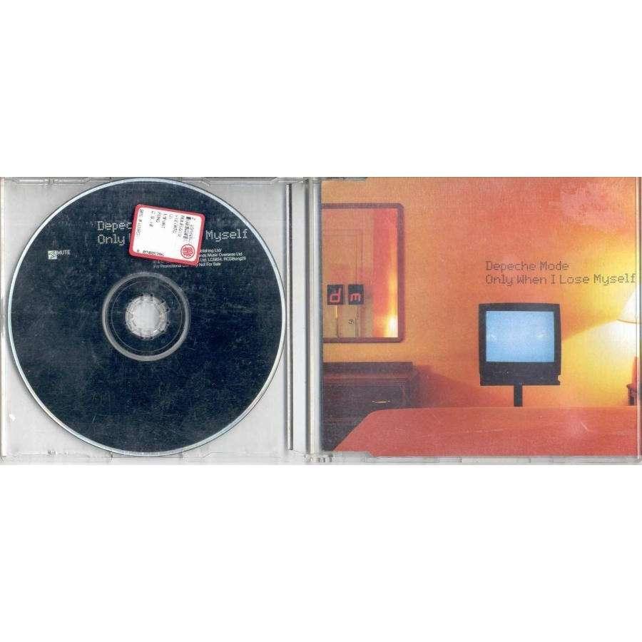 Depeche Mode Only When I Lose Myself (UK 1998 Ltd 2-trk promo CD ps)