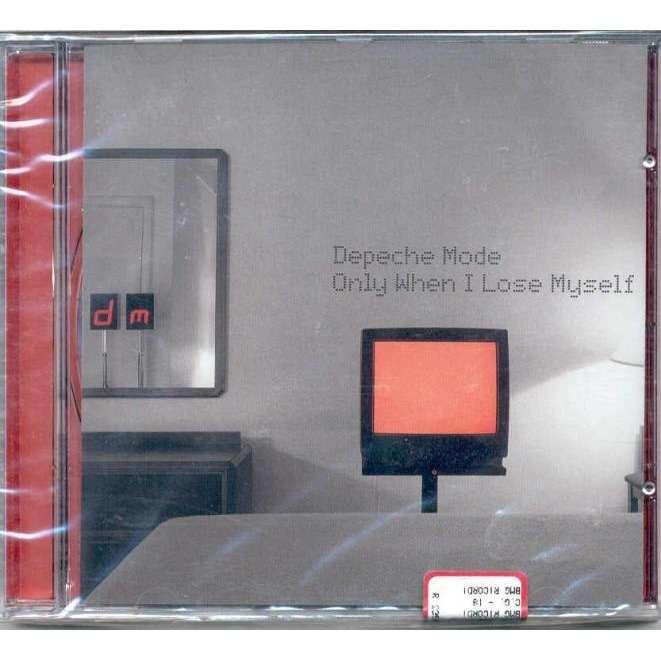 Depeche Mode Only When I Lose Myself (Italian 1998 Ltd 3-trk Cd full ps-sealed copy!!)