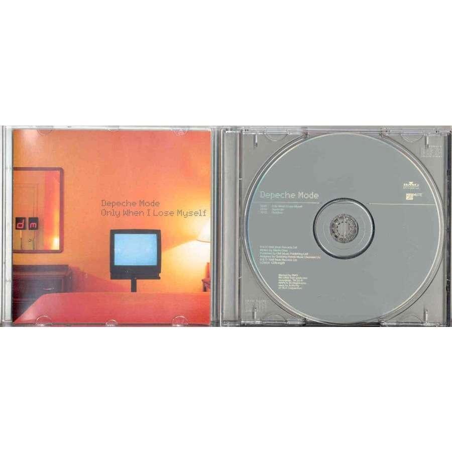 Depeche Mode Only When I Lose Myself (Italian 1998 Ltd 3-trk CD full ps)