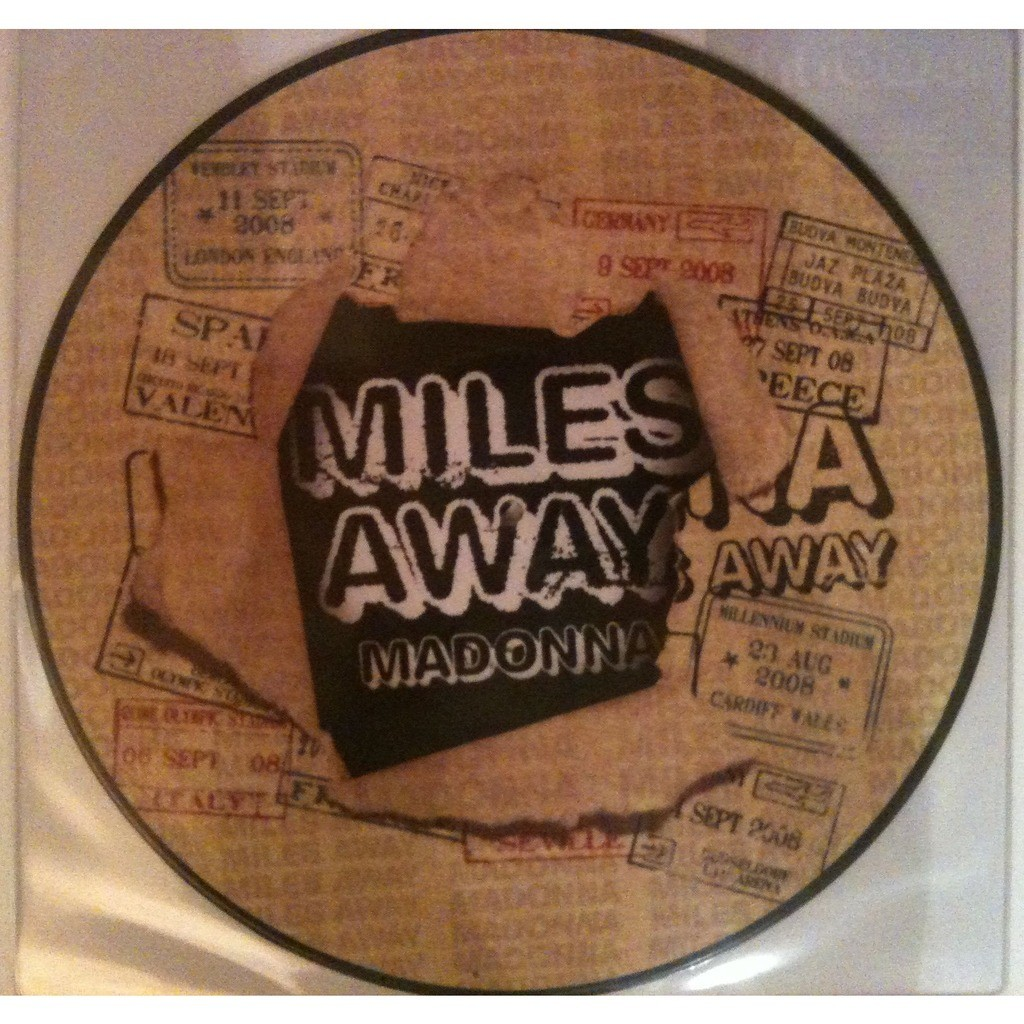 Madonna miles away (picture disc)