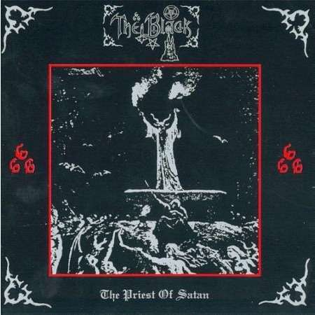 THE BLACK THE PRIEST OF SATAN ( LTD 300 COPY)