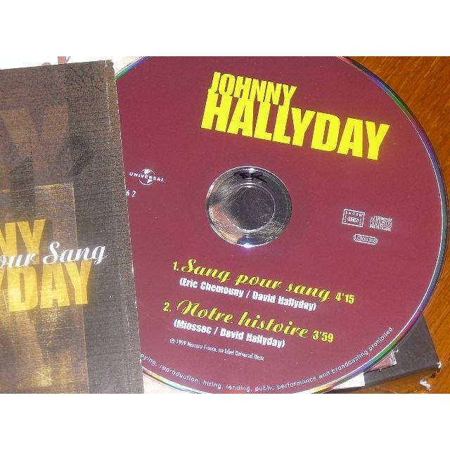 JOHNNY HALLYDAY SANG POUR SANG