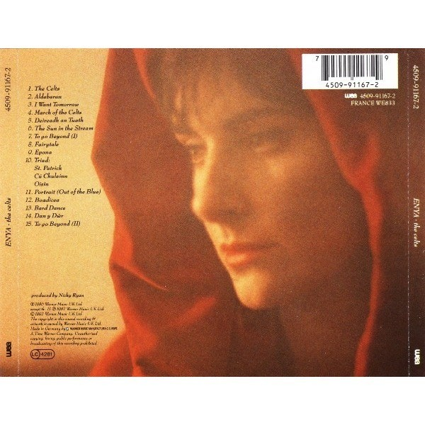 Celts By Enya Cd With Techtone11 Ref 117725968