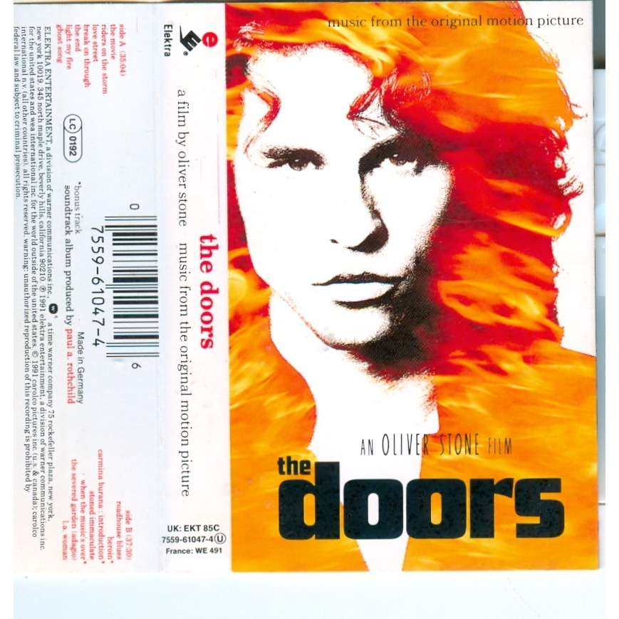 the Doors An Oliver stone film  sc 1 st  CD and LP & the Doors An Oliver stone film