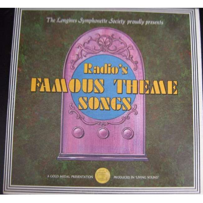 various perfect song radio's famous theme songs