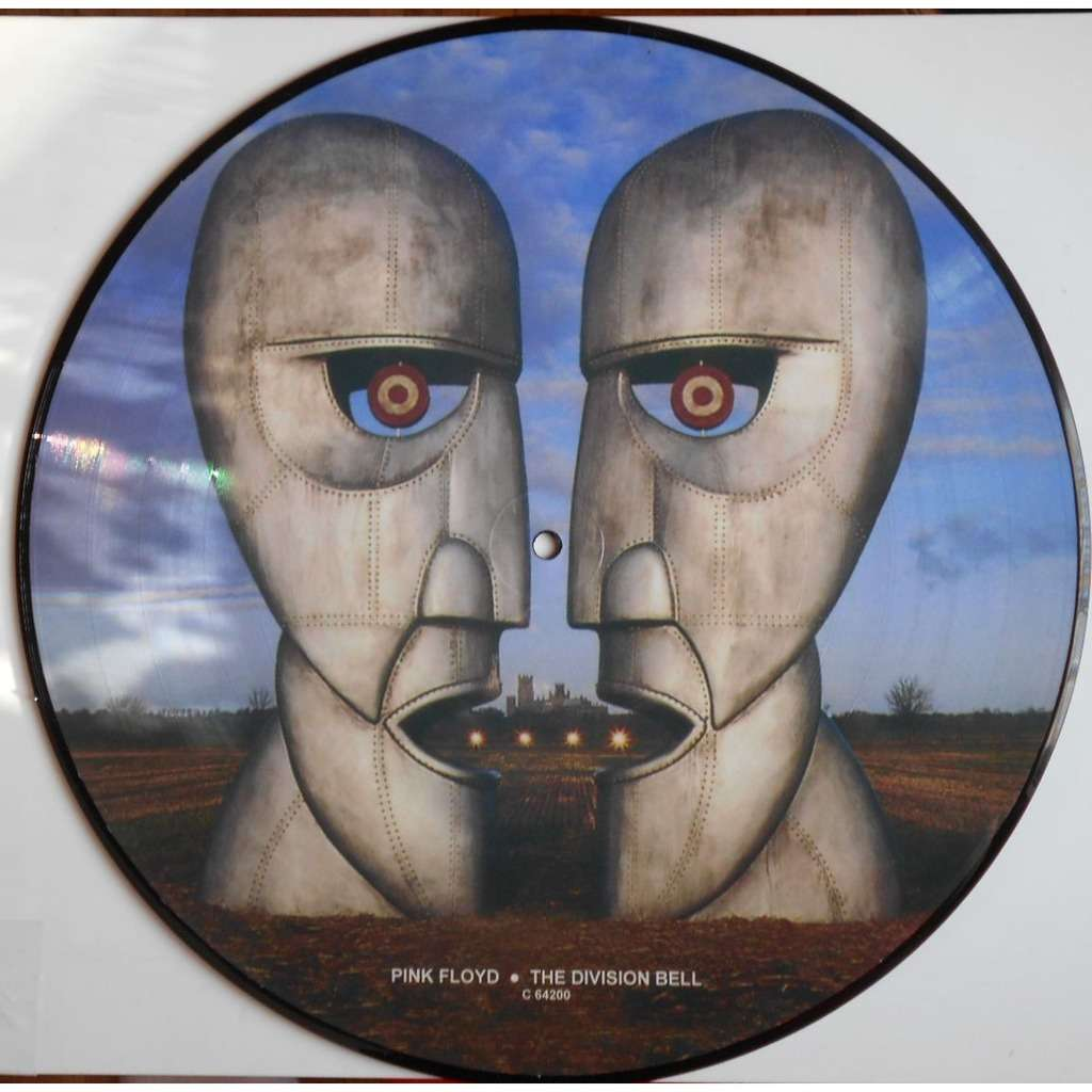 Division Bell Picture Disc By Pink Floyd Lp With Ald93
