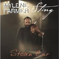 mylene farmer sting stolen car