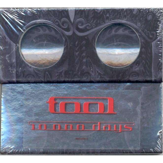 tool 10 000 Days (Euro 2006 Ltd CD album deluxe package ps)