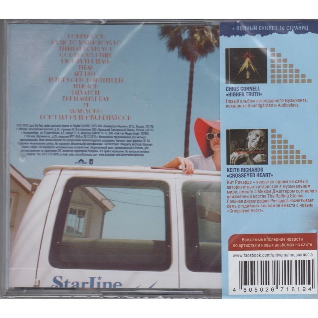 Honeymoon By Lana Del Rey Cd With Techtone11 Ref 117729255
