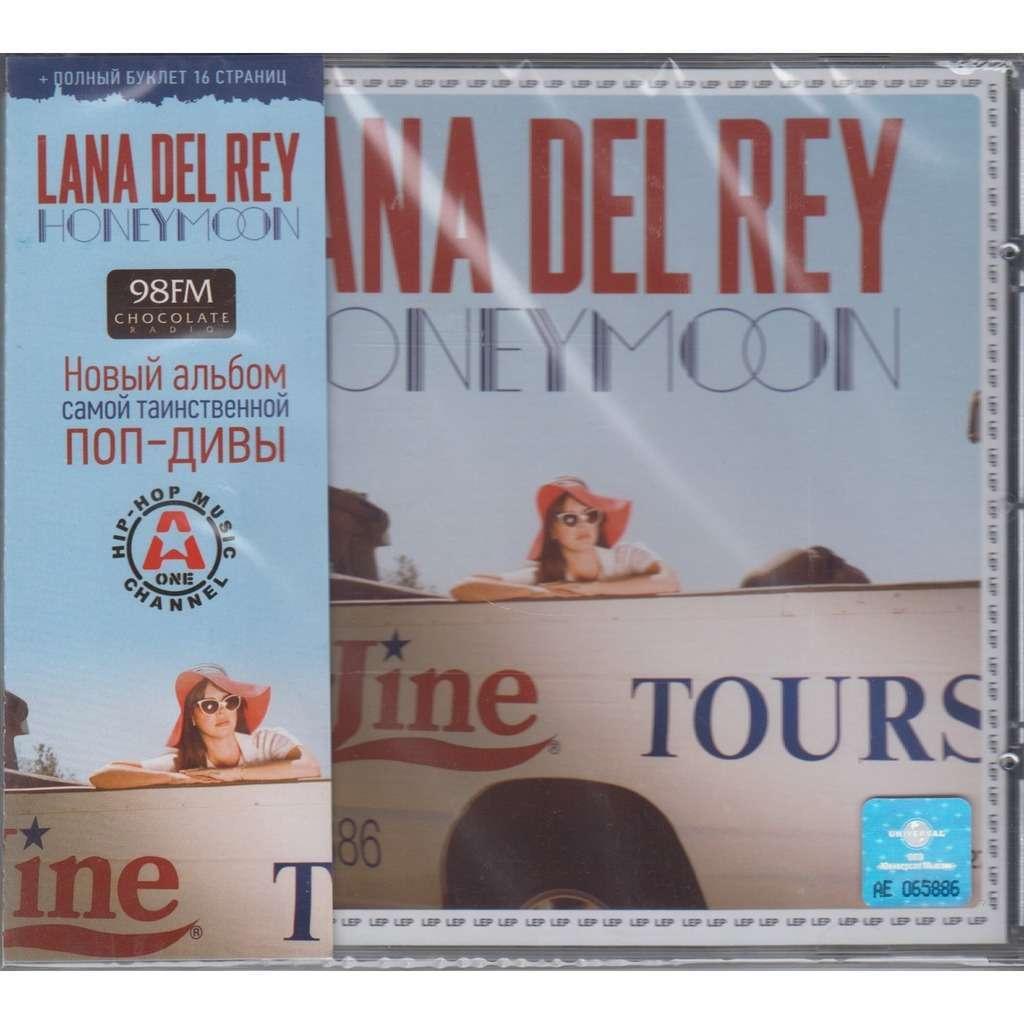 Honeymoon by lana del rey cd with techtone11 ref 117729255 for Casette obi
