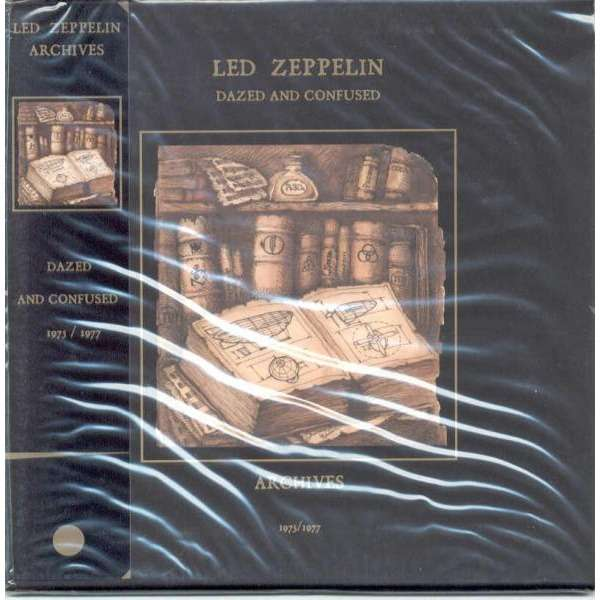 Led Zeppelin Dazed and Confused (Earl's Court London 24 05 1975 & Richfield  Coliseum Cleveland 27 04 1977)