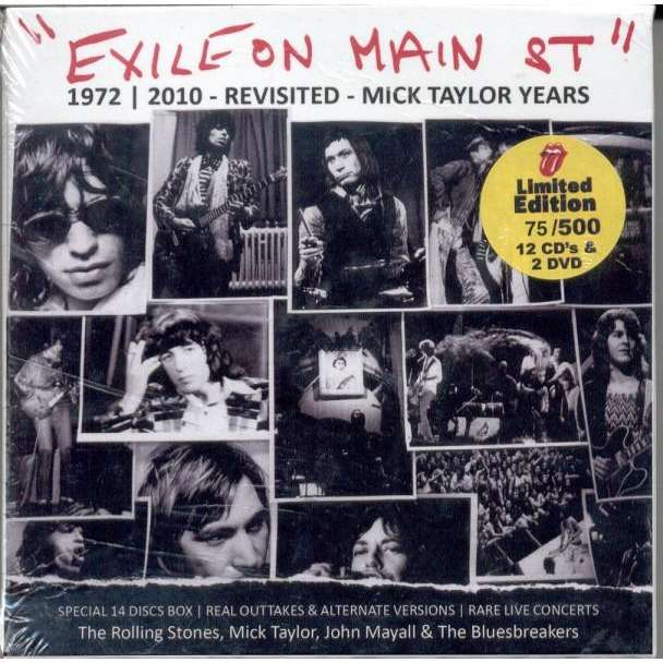 Exile On Main St Ltd 500 Copies 12cd Amp 2dvd Box