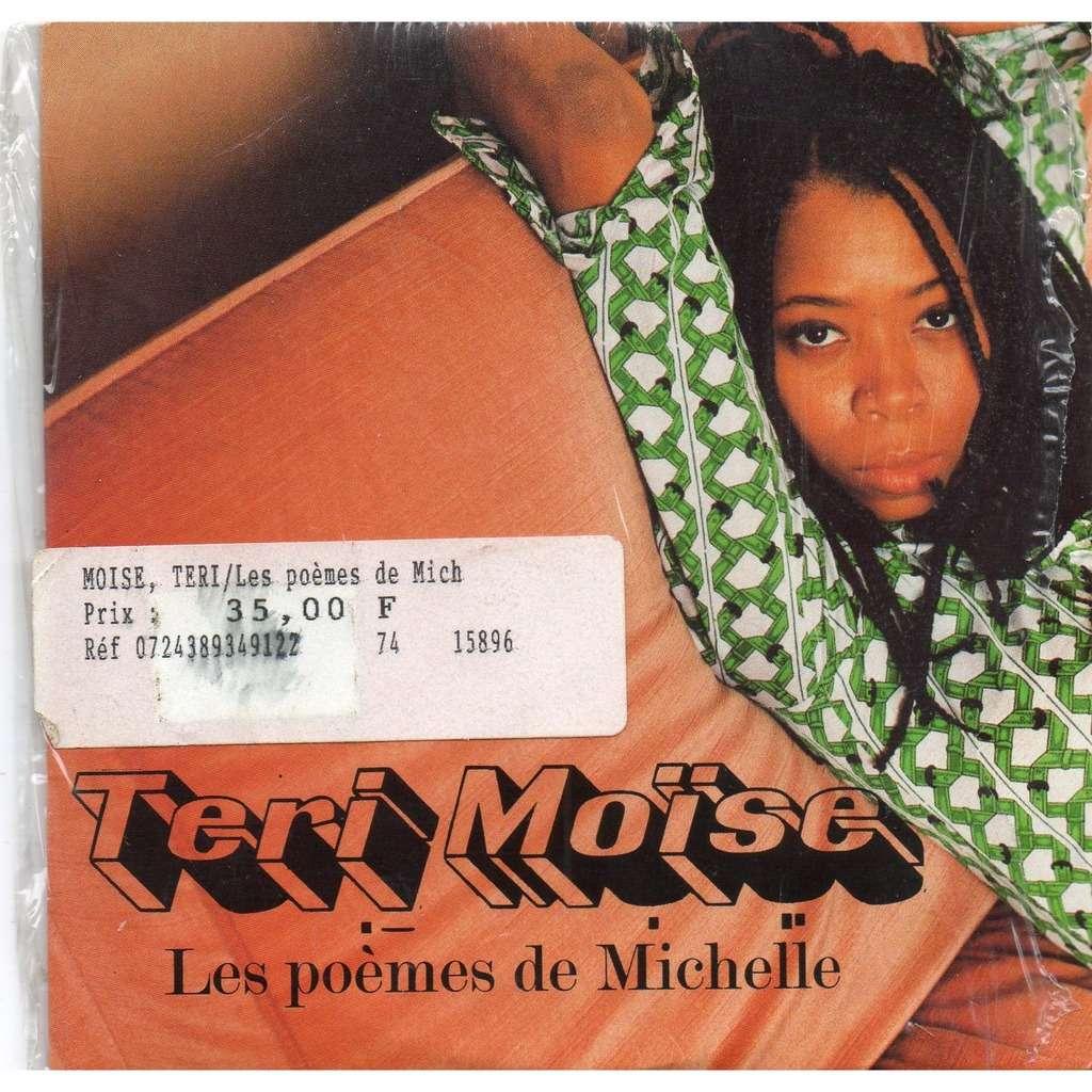 Teri Moïse Les Poèmes De Michelle Les Pages
