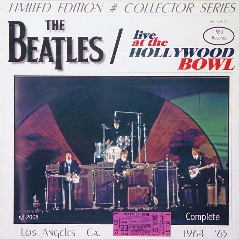 live complete hollywood bowl 1964 1965 cd by the beatles cd x 2 with zorro800 ref 117733646. Black Bedroom Furniture Sets. Home Design Ideas