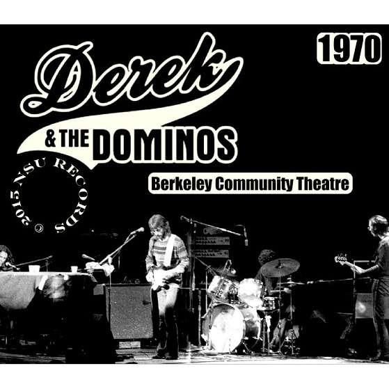 DEREK AND THE DOMINOS LIVE BERKELEY COMMUNITY THEATRE 1970 NOV 18&19 6CD
