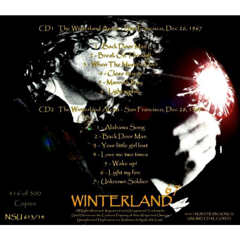 ... THE DOORS LIVE WINTERLAND ARENA 1967 DECEMBER 26-28 LTD ...