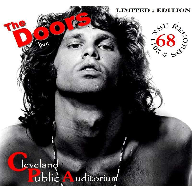 jim morrison \u0026 the doors LIVE IN CLEVELAND OHIO 1968 AUGUST 3RD LIMITED CD