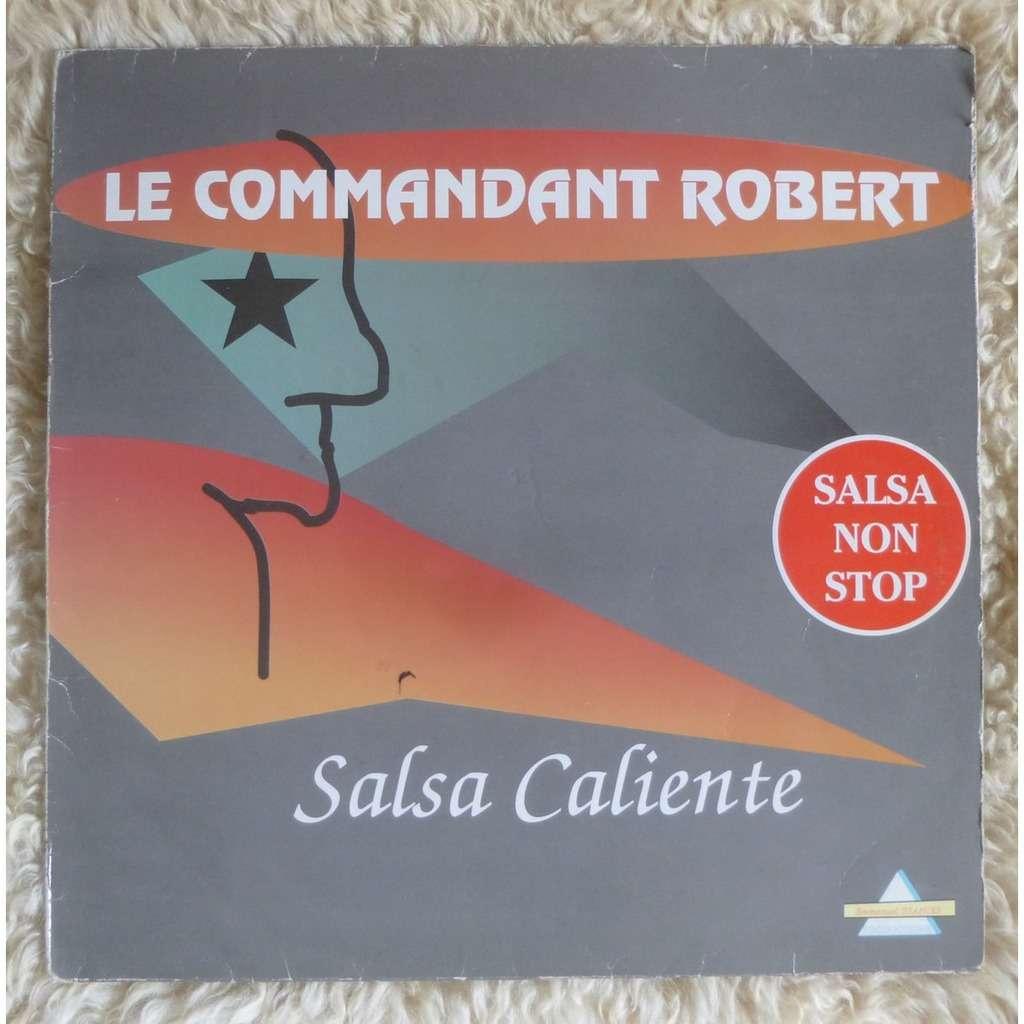 le commandant robert salsa caliente (Ultra rare French West Indies Salsa LP)