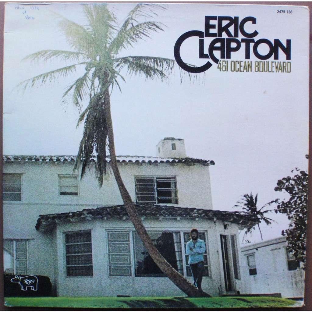 461 Ocean Boulevard By Eric Clapton Lp With Pefa63 Ref