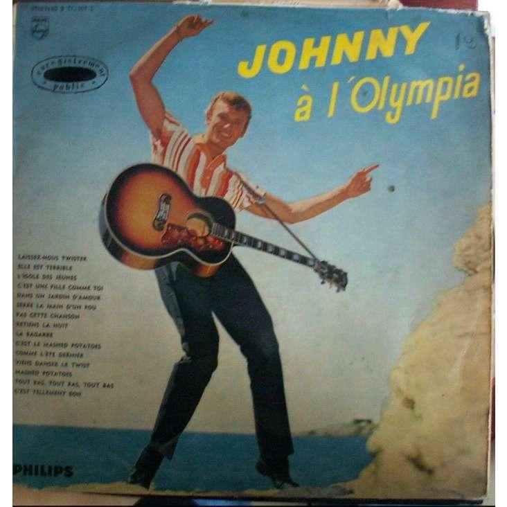 johnny hallyday johnny à l'olympia