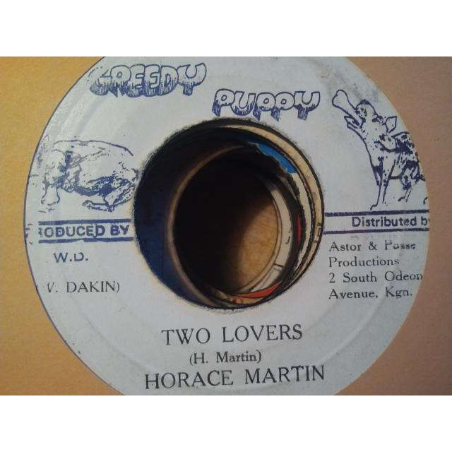 HORACE MARTIN / TONY ASHER SCIENTIST & THE STARS TWO LOVERS / TRIBUTE TO MRS. ADINA DAKIN ORIG.
