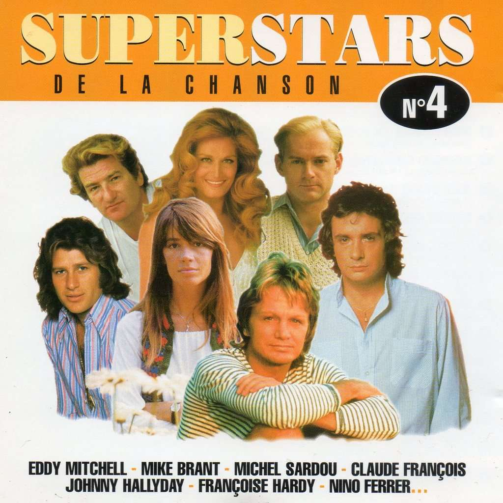 4902262bc77af1 Superstars de la chanson n° 4 by Various Artists, CD with didierf ...