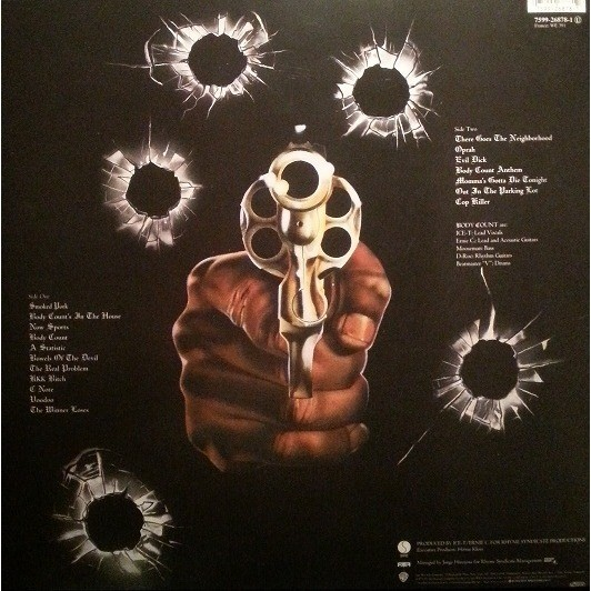 Body Count Body Count (lp)