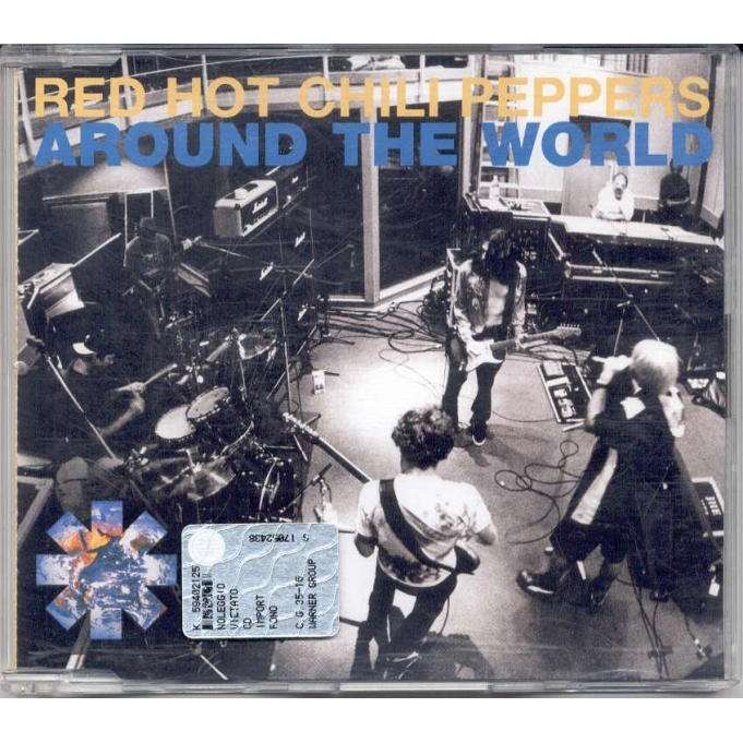 Red Hot Chili Peppers Around The World (German 1999 Ltd 4-trk Cd ps)