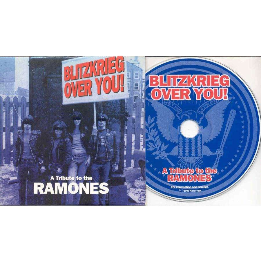 Ramones A Tribute To The Ramones (German 1998 26-trk promo tribute CD album unique card ps)