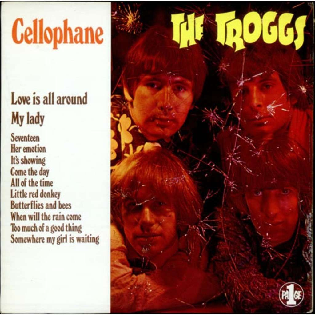 Cellophane Incl 12 Bonuses By The Troggs Cd With