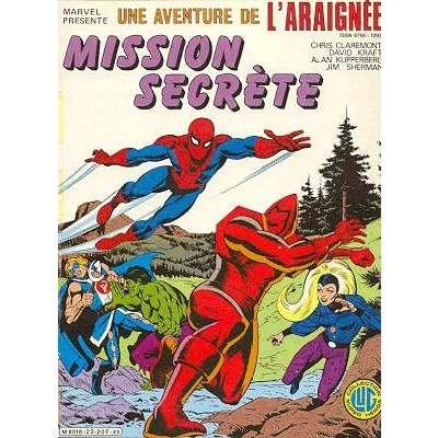 une aventure de l'araignée mission secrète