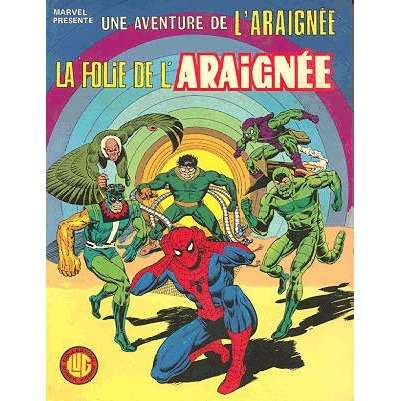 une aventure de l'araignée la folie de l'araignée