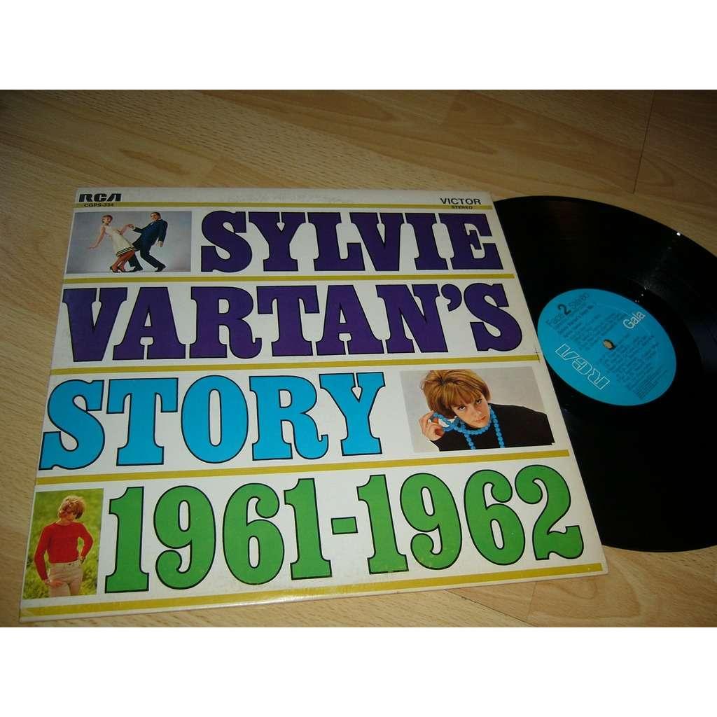 SYLVIE VARTAN SYLVIE VARTAN'S STORY 1961 - 1962 (pressage canadien)
