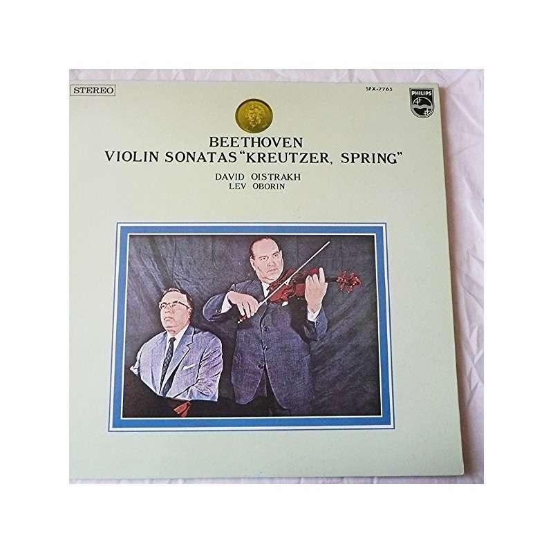 Beethoven / David Oistrakh / Lev Oborin Violin Sonata No. 9 (Kreutzer) / Violin Sonata No. 5 (Spring)