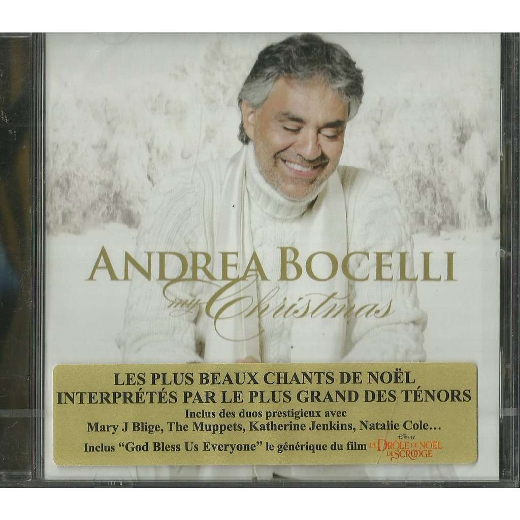 My christmas by Andrea Bocelli, CD with libertemusic - Ref:117748088