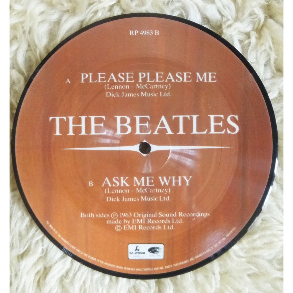 Beatles Please Please Me / Ask Me Why
