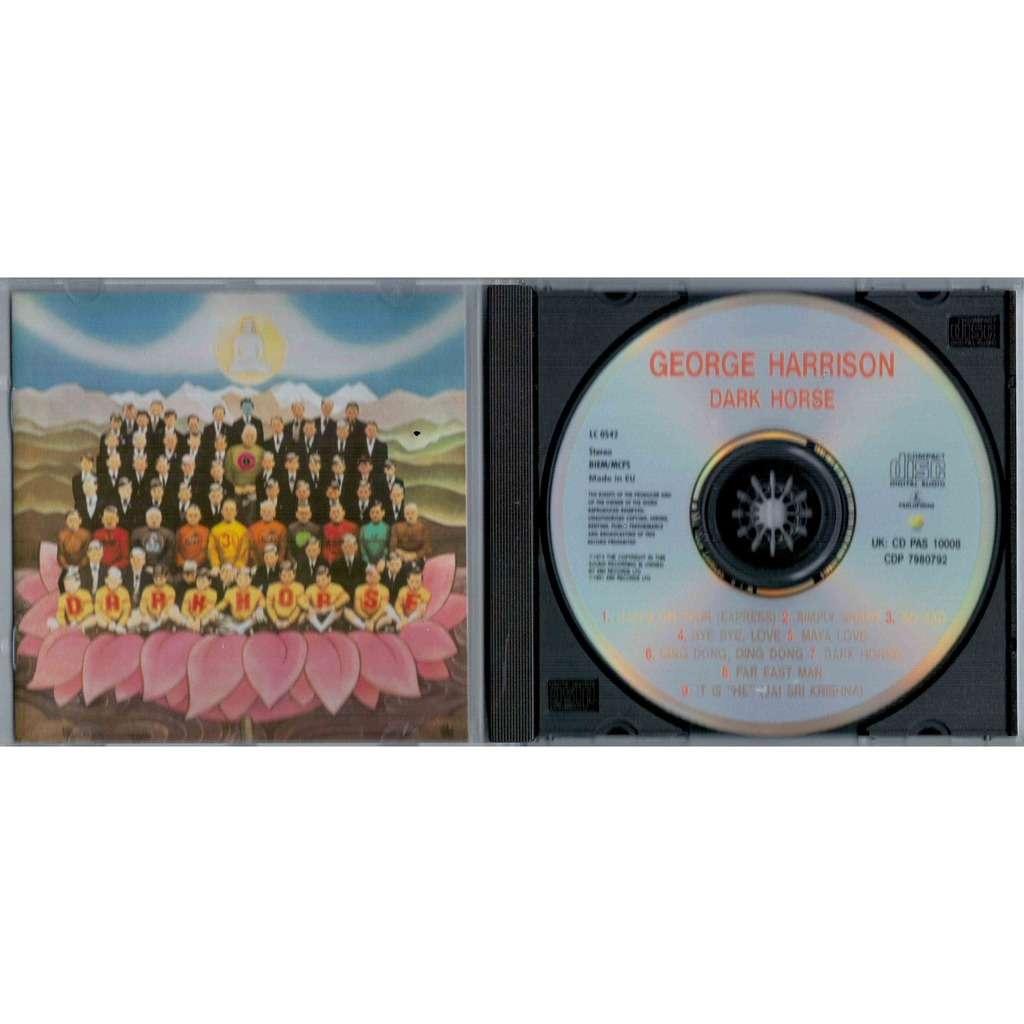 The Beatles / George Harrison Dark Horse (Euro 1991 9-trk Cd album on Apple lbl full ps)