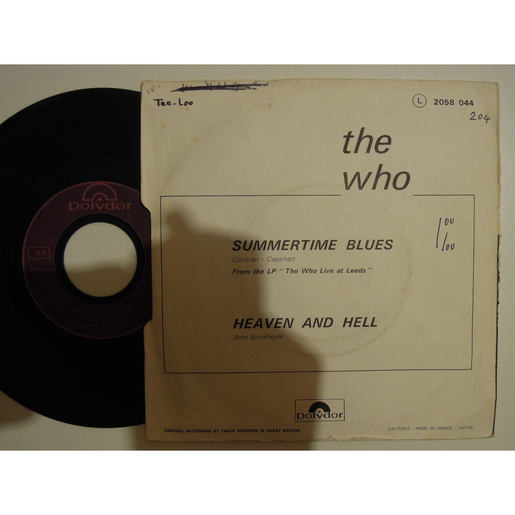 the who live at leeds - summetime blues