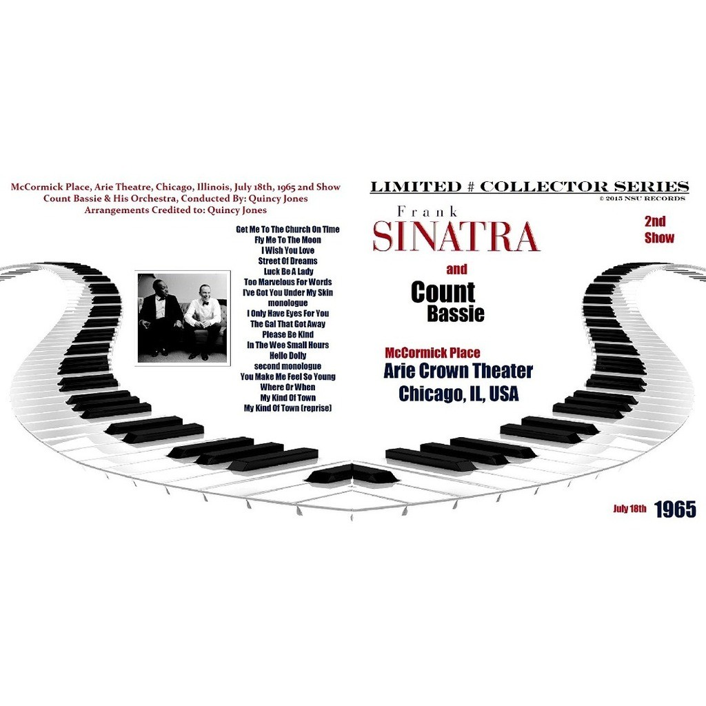 frank sinatra & count basie LIVE CHICAGO 1965 JULY 18 2ND SHOW LTD CD