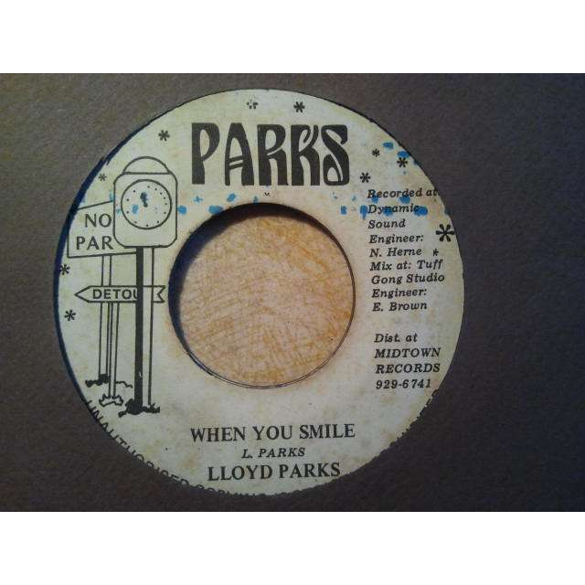 LLOYD PARKS / WE THE PEOPLE SLY BO-PEE ANDY WHEN YOU SMILE / VERSION ORIG.