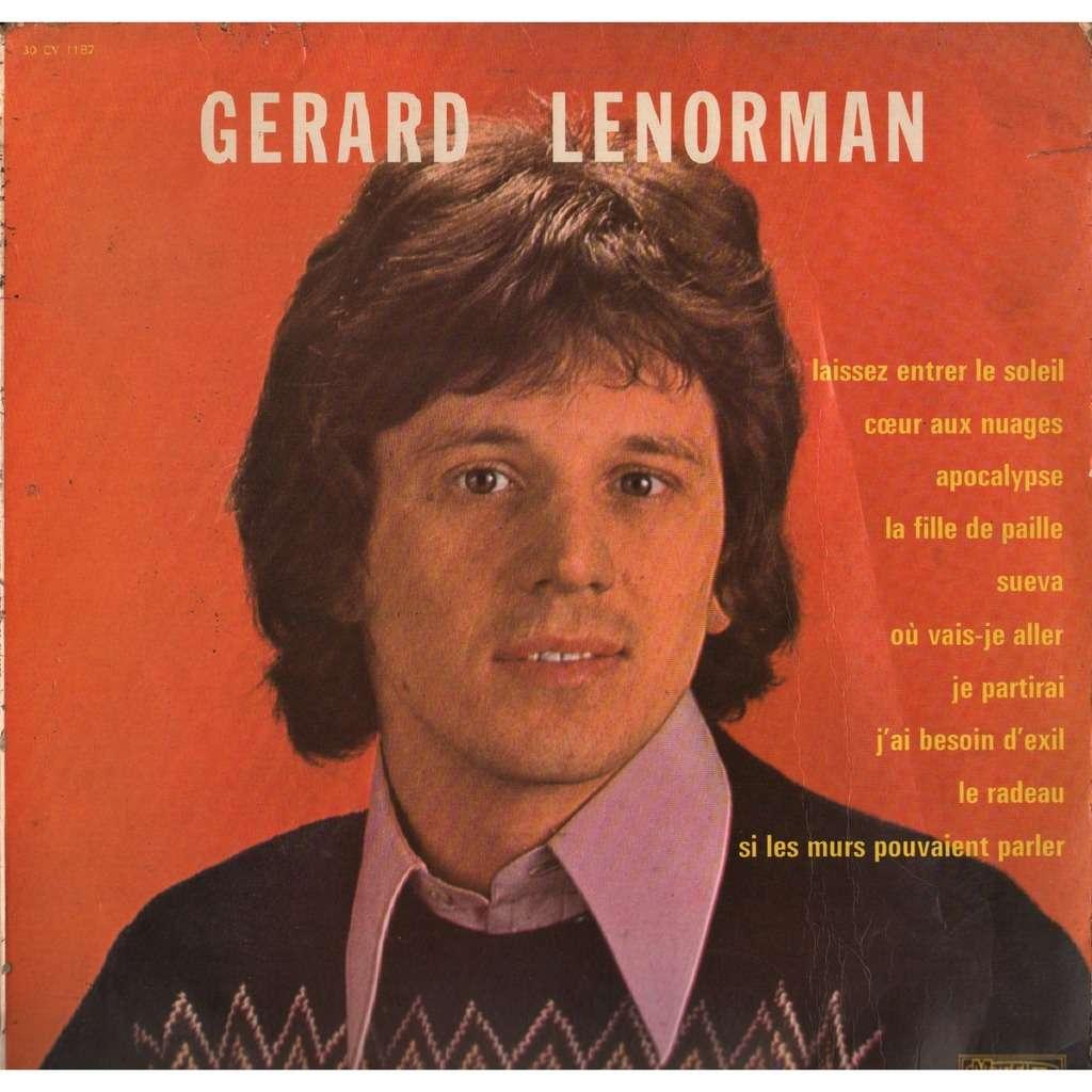 si les murs pouvaient parler de gerard lenorman  33t chez