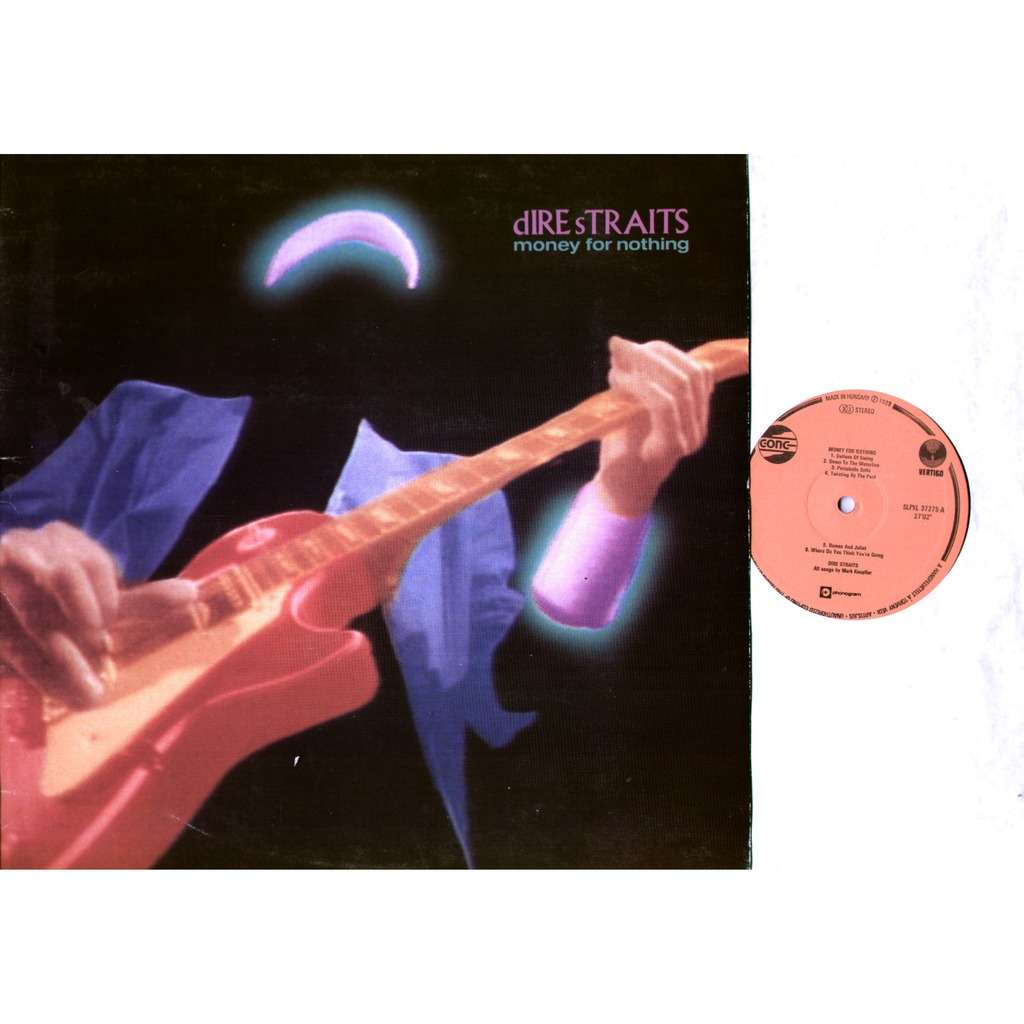 Dire Straits - Money For Nothing Single