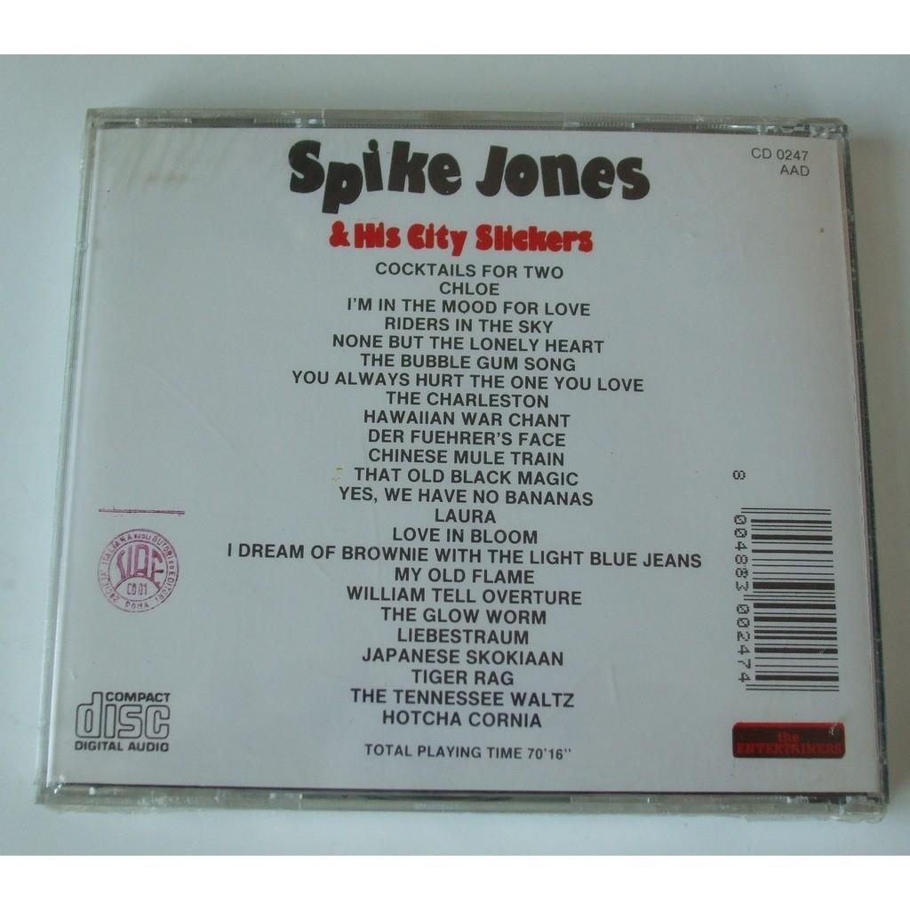 spike jones his city slickers greatest hits