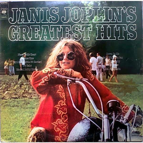 Janis Joplin - Janis Joplin's Greatest Hits Record