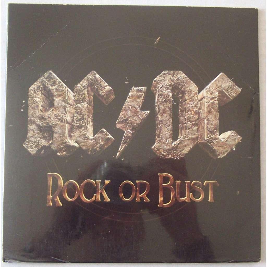 AC / DC SP 45T vinyle Rock or Bust NEUF SCELLER