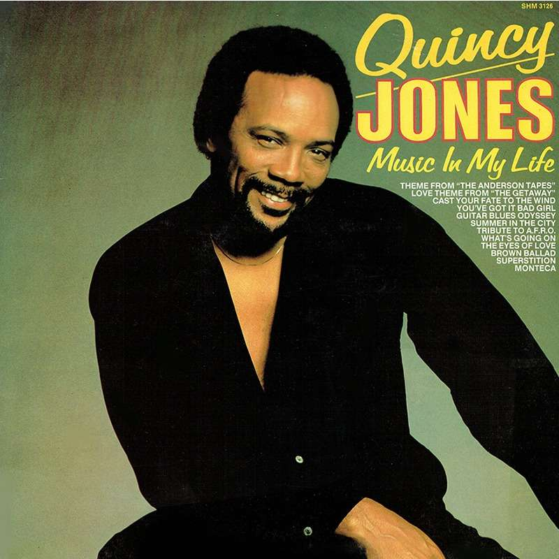 Music in my life by Quincy Jones, LP with ouvrier - Ref ...